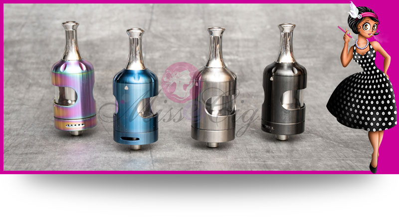 Coloris disponibles clearomiseur Nautilus 2s par Aspire
